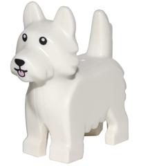 Figurka LEGO Pes Teriér zepředu