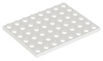 LEGO® Light Gray Plate 6 x 8 Part 3036