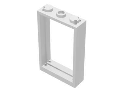 BrickLink - Part 3579 : Lego Door Frame 1 x 3 x 4 [Door Frame ...