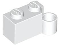 20 NEW LEGO Hinge Brick 1 x 4 Swivel Base White