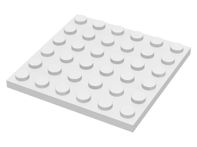 Lego New Lot of 50 Light Bluish Gray Plates 4 x 6 Pieces