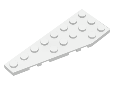 LEGO Lot of 2 Pair of Light Bluish Gray 8x3 Wedge Plates Parts and Pieces
