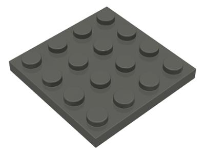 Light bluish gray 1 X Lego 3031  Plate 4 x 4