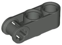 LEGO® Black Technic Axle and Pin Connector Perpendicular 3L Part No 42003