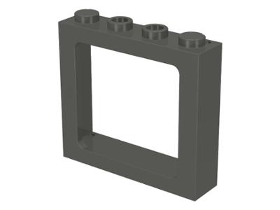 LEGO 6016 Bar 1 x 4 x 3 Window x2