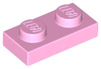 3023-02 1x2 50Stk - Plate-Blue Used Lego ® Plates-Blue