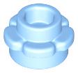 LEGO® Bright Green Plate Round 1 x 1 Flower Edge 5 Petals Part 24866
