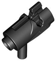 Lego 15392 NEUF 4x arme weapon pistolet gun blaster shooter noir//black 15391