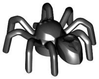 Figurka LEGO Pavouk podlouhlé tělo zepředu