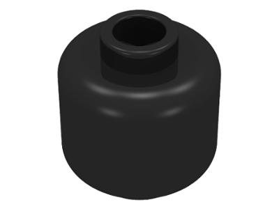 Lego Minifigure, Head (Plain) - Blocked Open Stud