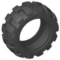 Medium Balloon Tire 20 x 30 6581 ~ SET of 4 Lego Technic Light Gray Wheel 6582