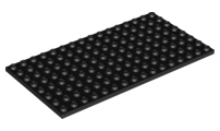 Lego Genuine Lego Base Plate 8 X 16 Choice Of Color 92438 Baseplate