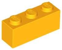 No 3622 QTY 5 LEGO Parts Dark Bluish Gray Brick 1 x 3