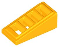 6 Slope 18 2 x 1 x 2//3 w 4 Slots 61409 BLUE 61409 LEGO Parts ~