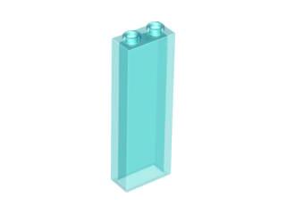 NEUF LEGO 8 x trans clair 1x2x5 brique sans Side Supports 46212