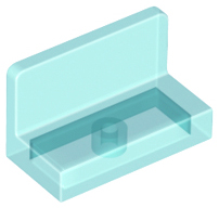 Trans Clear 19 x LEGO Panel 1 x 2 x 1 with Rounded Corners 4865b