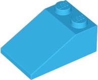 #AA53 LEGO® 8 x 3298 Dach Stein 33° 3 x 2 blau 6141996 Slope blue