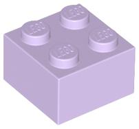 Lego 2 Stück Stein pearl gold 2x2 Neu Stein Baustein Blocks City Basics 3003