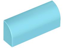 LEGO® Tan Brick 1 x 4 x 1 1//3 No Studs Curved Top Design ID 6191