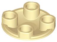LEGO New Lot of 8 Magenta 2x2 Round Bottom Boat Plates