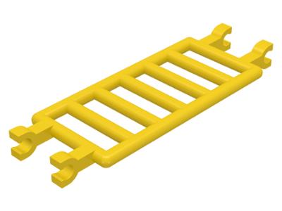 LEGO Lot of 4 Black 7x3 Ladder Bars