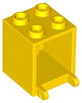 Container Box 2 x 2 x 2 Spyrius Pattern LEGO #/'s 4345 /& 4346px15
