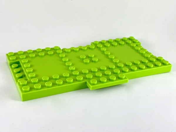 New LEGO Lot of 8 Green 1x4 Basic Building Brick Pieces
