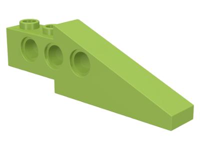 x2 LEGO 2744 Technic Slope 33 6 x 1 x 1 2//3 Long Wing Back