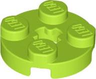 Lego PLATE 2x2 LIME LIGHT GREEN 5 Piece 361