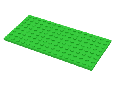 LEGO Flat Plates Genuine 8 x 16 Bright Blue Colour 16 x 16