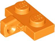 Lego 5 New Light Bluish Gray Hinge Plates 1 x 2 Locking with 2 Fingers on Side