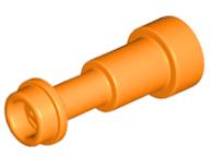 2 x Lego 64644 Minifigure Utensil Telescope Pearl Gold