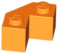 LEGO  PART 87620 LIGHT BLUISH GREY MODIFIED FACET BRICK x 4