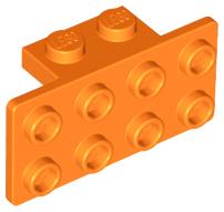 LEGO black support 1x2-2x4 10 pièces 93274