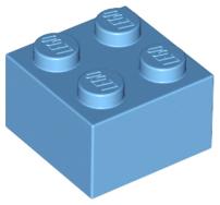 LEGO® Green Brick 2 x 2 Part 3003
