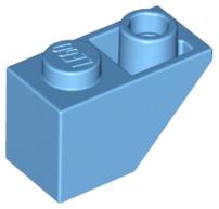 3665 schwarz- slope black Lego ® 20x Dachstein 2x1 Slope 45° negativ