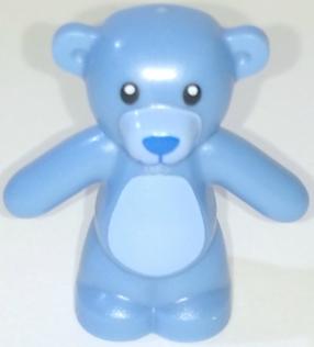 Figurka LEGO Medvídek světle modrý zepředu
