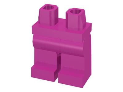 LEGO PART 970C00 MINIFIGURE HIPS AND LEGS BLACK