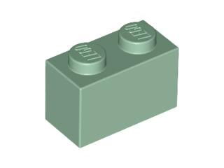 LEGO® Dark Green Brick 1 x 2 Part 3004
