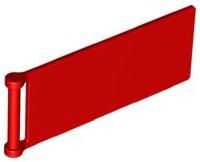 LEGO 2x bandiera 7x3 scanalata bandiera in bianco 30292