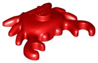Figurka LEGO Červený krab zepředu