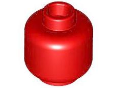 LEGO Minifigure Head Plain Trans Black White Blue Gray Clear Green Red Tan Pink