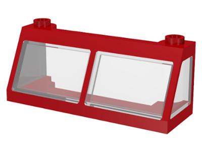 5 NEW LEGO Windscreen 3 x 6 x 2 Trans-Black