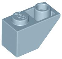 10 Slope LEGO Parts~ Inverted 45° 2 x 1 BLUE 3665