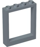 Lego 6154c01 @ door frame 1 x 4 x 4 light gray lift door lift