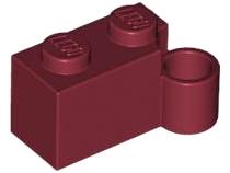 Lego 5 New Black Hinge Brick 1 x 4 Swivel Top Pieces