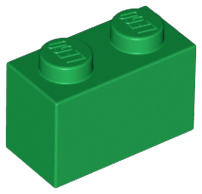 LEGO® Brick 1 x 2 White Part No 3004 x 10 Items