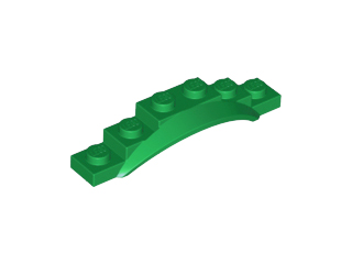 62361 LEGO Parts~ 2~ LIME Car Mudguards  6 x 1 1//2 x 1 with Arch