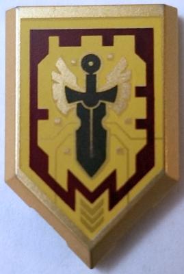 Lego ® Bouclier Chevalier Nexo Knights Power Kingdom Choose Pattern ref 22385