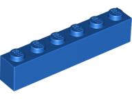 NEW LEGO Sand Blue 1X6 Bricks Lot of 30 Pieces 3009